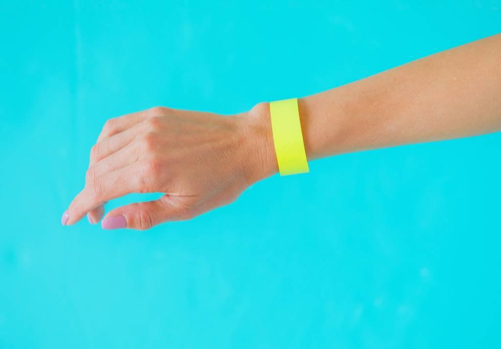 événement entrée contrôle bracelet